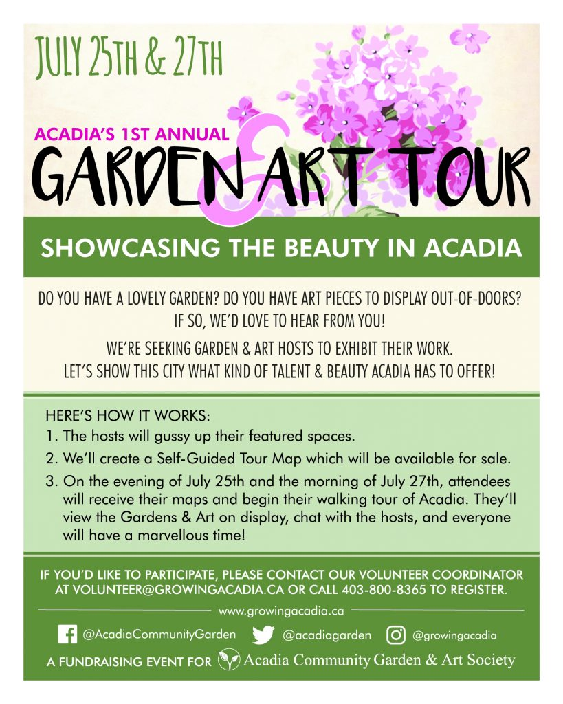Volunteering Archives | Acadia Community Garden and Art Society